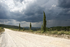 krajobrazu Tuscan zdjęcia royalty free