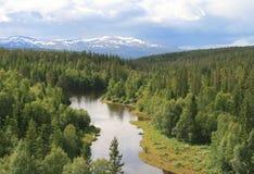 krajobrazu wiejskiego Obraz Royalty Free