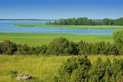 krajobrazu wiejskiego Zdjęcie Stock
