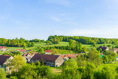 krajobrazu wiejskiego Fotografia Stock