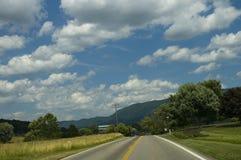krajobrazu wiejskiego wcześniej lato Obraz Stock