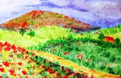 krajobrazy ilustracja wektor