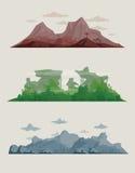 krajobrazy Zdjęcie Royalty Free