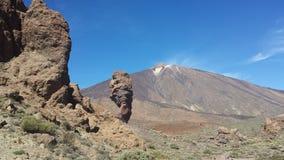 krajobrazy Canadas Del Teide Zdjęcie Stock