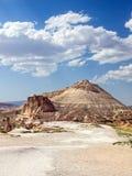 Krajobrazy Cappadocia, Środkowy Turcja Obraz Royalty Free