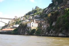 Krajobrazy Douro fotografia royalty free