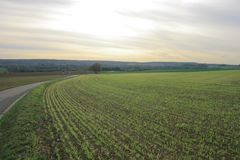Krajobrazy Francja Zdjęcie Stock