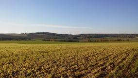 Krajobrazy Francja: Jambville Zdjęcia Stock