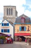 Krajobrazy i architektury Brittany Obrazy Stock