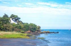 Krajobrazy i architektury Brittany Zdjęcie Royalty Free