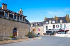 Krajobrazy i architektury Brittany Zdjęcie Stock