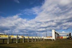 krajobrazy przemysłowych Zdjęcie Stock