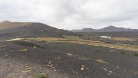 Krajobrazy w Lanzarote Zdjęcie Royalty Free