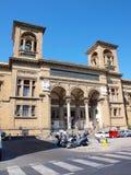 Krajowa Środkowa biblioteka, Florencja, Włochy zdjęcie stock