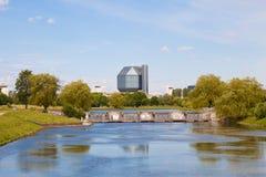 Krajowa biblioteka Białoruś w Minsk Zdjęcia Stock