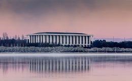 Krajowa biblioteka Canberra zdjęcie royalty free