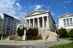 Krajowa biblioteka Grecja Zdjęcie Royalty Free