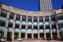 Krajowa biblioteka Malaysia na święcie państwowym fotografia stock