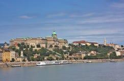 Krajowa galeria w Buda część Budapest Obrazy Royalty Free