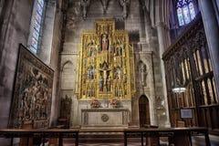 Krajowa katedra zdjęcia royalty free