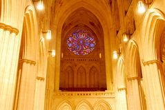 Krajowa katedra - washington dc fotografia stock