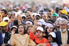 Krajowa konferencja Bangladesz Awami liga zdjęcie royalty free