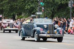 Krajowa Memorial Day parada zdjęcia royalty free