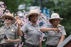 Krajowa Memorial Day parada zdjęcie royalty free
