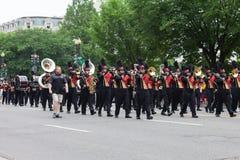 Krajowa Memorial Day parada zdjęcie stock