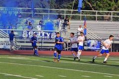 Krajowa Najważniejsza piłka nożna liga akcja Fotografia Stock