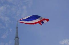 Krajowa Tajlandzka flaga zdjęcia royalty free