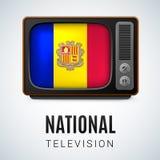 Krajowa telewizja Obrazy Stock