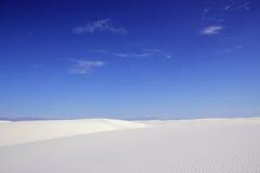 krajowe pomnikowi białe piaski Obrazy Stock