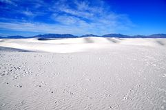 krajowe pomnikowi białe piaski Fotografia Stock