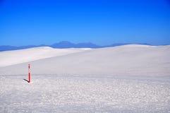 krajowe pomnikowi białe piaski Zdjęcia Royalty Free