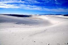 krajowe pomnikowi białe piaski Zdjęcie Stock