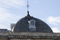 Krajowej biblioteki dach, Madryt, Hiszpania Zdjęcia Royalty Free
