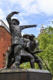 Krajowi strażacy Memoria, Londyn obrazy royalty free