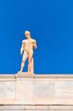 Krajowy Archeologiczny muzeum w Ateny, Grecja. Rzeźba dalej Fotografia Royalty Free