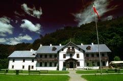 krajowy budynku ojcow park zdjęcie royalty free