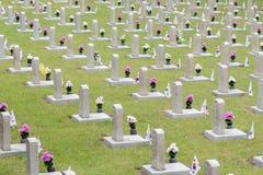Krajowy cmentarz Południowy Korea Zdjęcia Stock