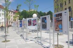 Krajowy festiwal Polscy Pieśniowi plakaty Zdjęcia Royalty Free