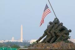 Krajowy Iwo Jima Wojny Pomnik Fotografia Royalty Free
