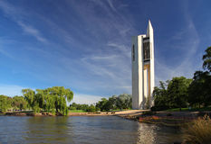 Krajowy karylion w Canberra, Australia fotografia stock