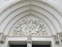 Krajowy Katedralny portal Fotografia Royalty Free