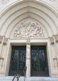 Krajowy Katedralny portal Fotografia Stock