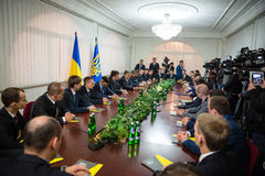 Krajowy korupci biuro Ukraina obraz stock