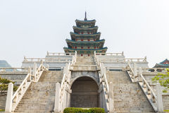 Krajowy Ludowy muzeum Korea Obraz Stock