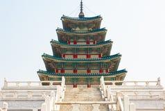 Krajowy Ludowy muzeum Korea Zdjęcia Royalty Free