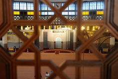 Krajowy meczet Malezja a K masjid Negara Zdjęcia Stock